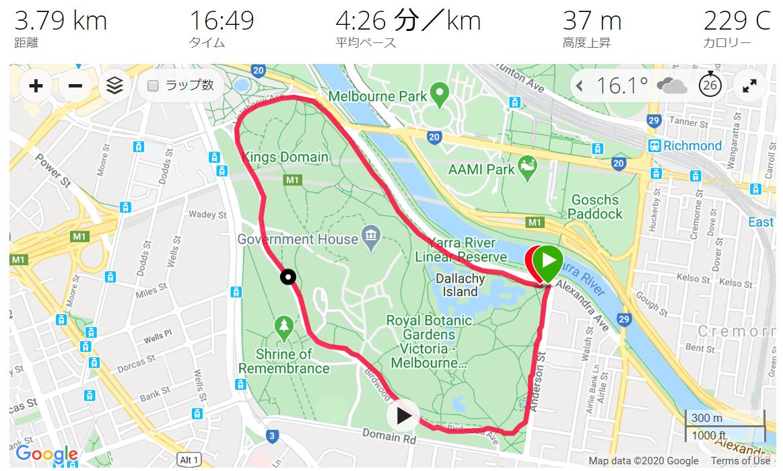 19 May Tan Track Running