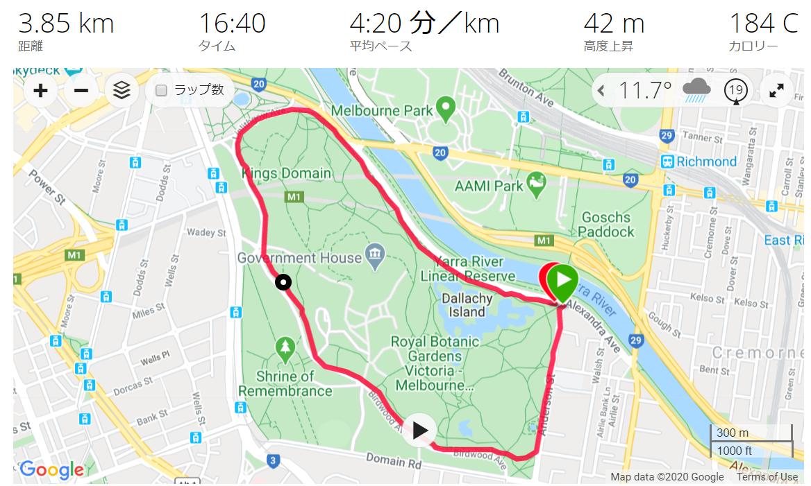 23 May Tan Track Running